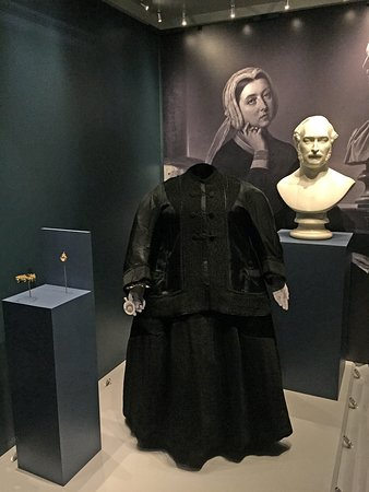 One of Queen Victoria's mourning dresses