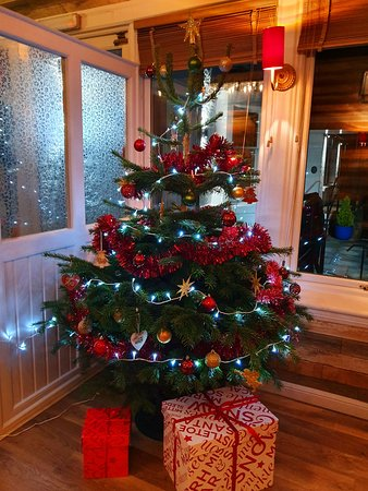 Christmas in the bistro at Achray House hotel