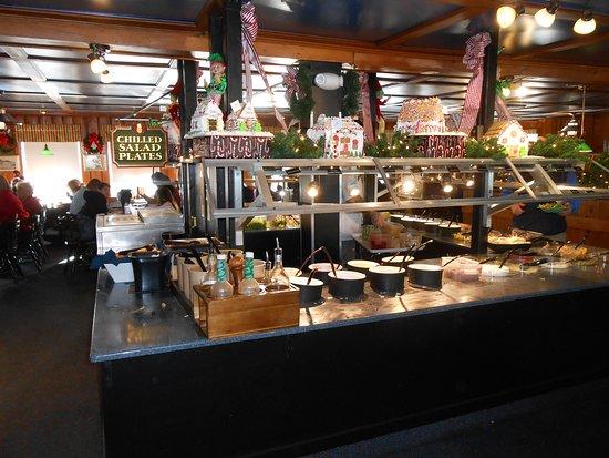 The large salad bar.