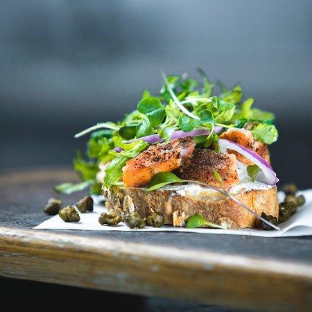 Frank & Roze salmon tartine