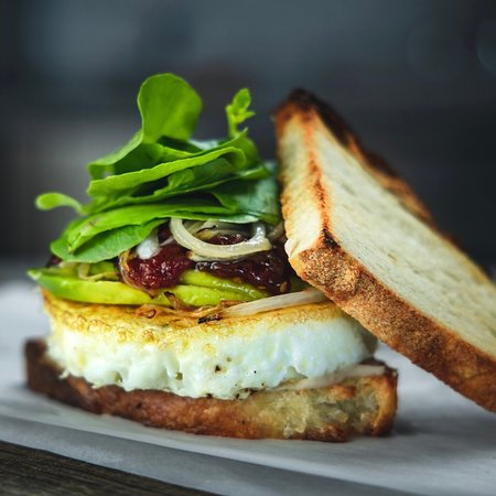 Frank & Roze breakfast sandwich