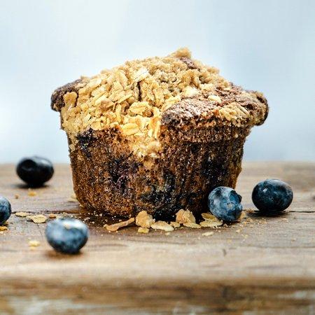 Frank & Roze blueberry muffin