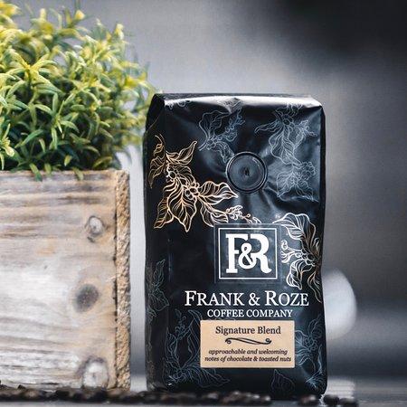 Frank & Roze take-home coffee