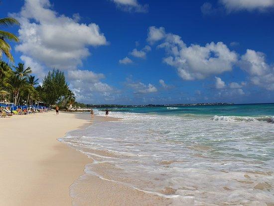 Maxwell beach where Sandals royal Barbados is