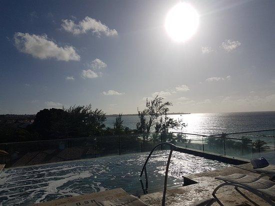 Sky bar and infinity pool