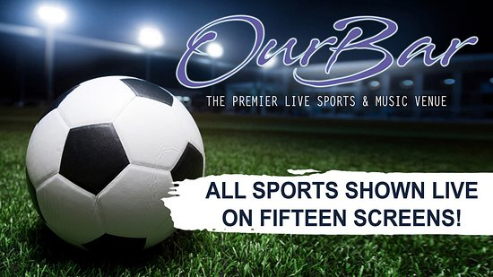 All Premier League, European Football and all other sports shown live on 15 screens