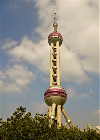 The Pearl TV Tower is nearby