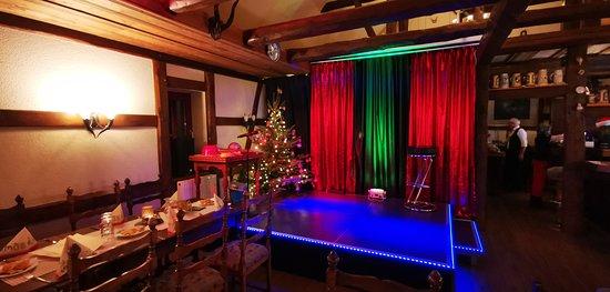 Bühne im Comedysaal