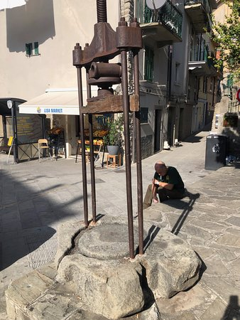 Cinque Terre Day Trip from Florence with Optional Hiking: antique olive press