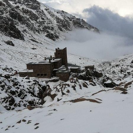 refuge of toubkal 3207 in 6/12/2019