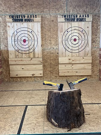 Come throw at our targets!