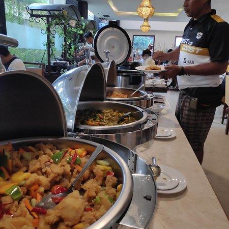 The Breakfast time at Namira Syariah Pekalongan