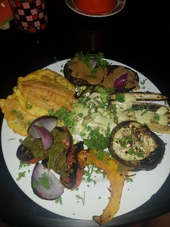 Amazing plate of veg, so much flavour ❤