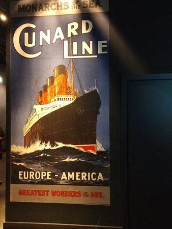 Titanic Belfast  exhibit