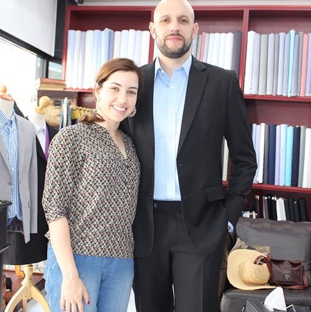 This tailor is extremely professional and passionate about what they do.
