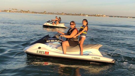 Family fun on private dolphin Island excursion