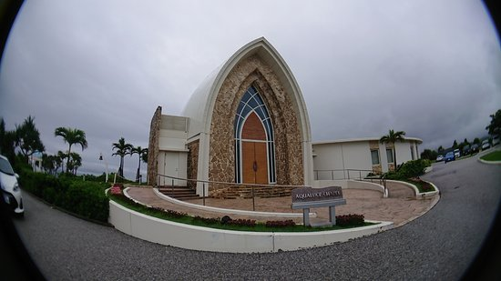 Chapel outside hotel lobby