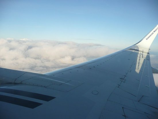 Air Transat: Beautiful view of the clouds