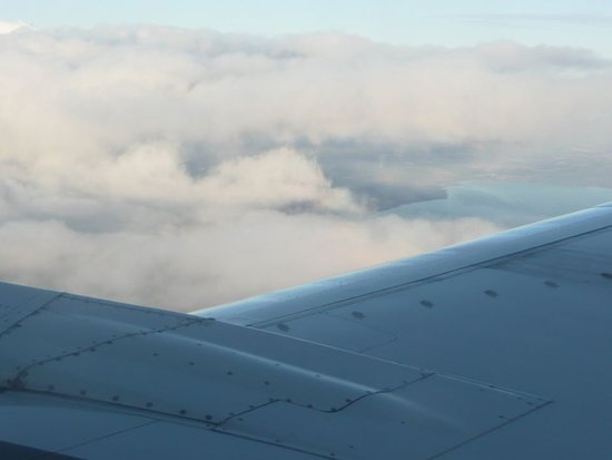Air Transat: Another shot of the clouds