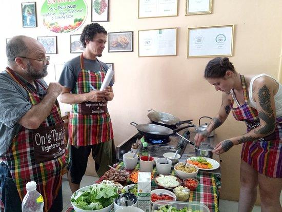 On S Cooking Class Picture Of On S Thai Issan Kanchanaburi Tripadvisor