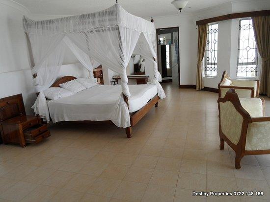 Vipingo, Kenia: a king size comfortable bed
