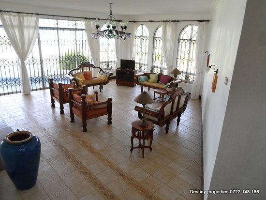 Vipingo, Kenia: relaxing tv room