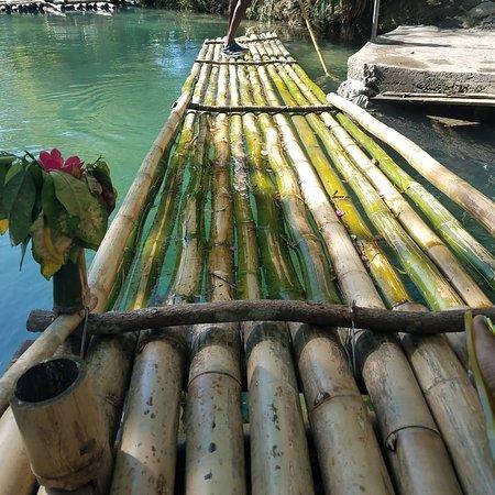 Bamboo rafting on the White River, Ocho Rios