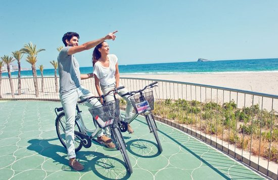 Bike rental in Palma de Mallorca city centre. the most economical for rent a bike and visit the catedral, old quarter, centre city