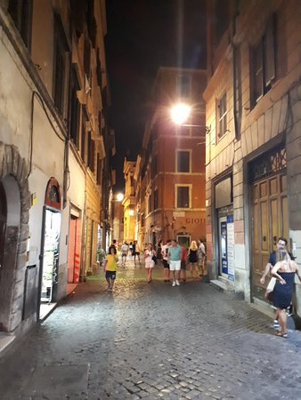 Rome, in the alleys of the city