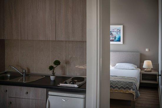 Two bedroom apartment garden view