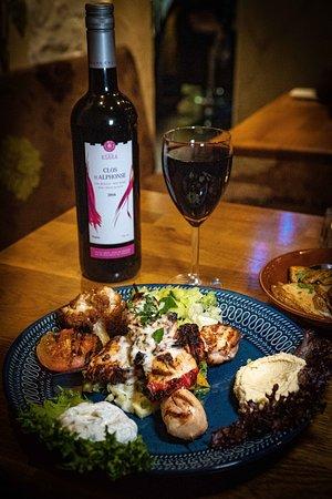 Spett med libanesiskt vin