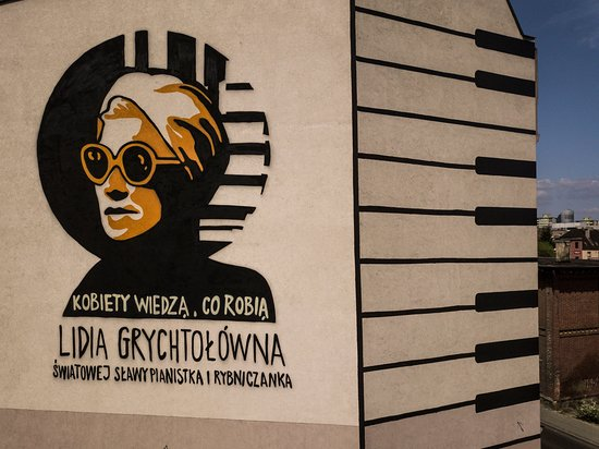 Mural Lidia Grychtołowna