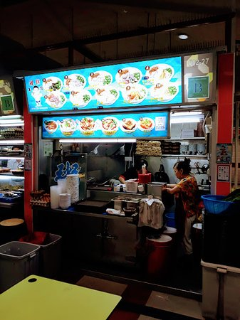 Congee stall