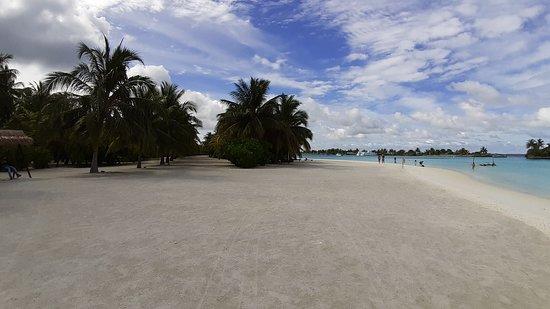 spiaggia bianchissima