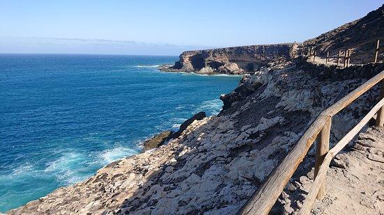 Fuerteventura, Spanien: Coast line where first settlers arrived