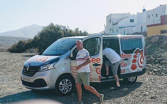 "Fuerteventura, Spanien: Simon and ""Reggie"" GoGo tours"