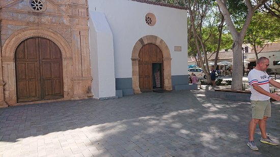 Fuerteventura, Spanien: Pajara church