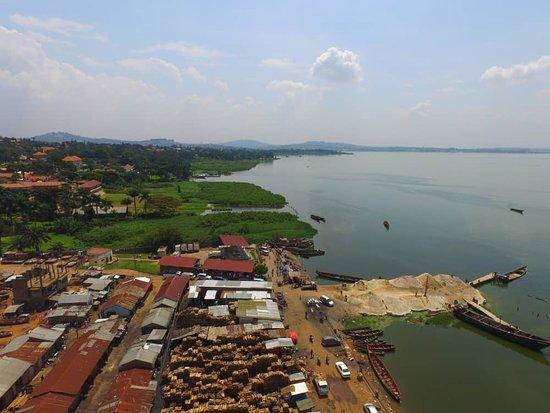 A few pictures from Uganda  -Ggaba landing site -Street racing in uganda -Toororo hill