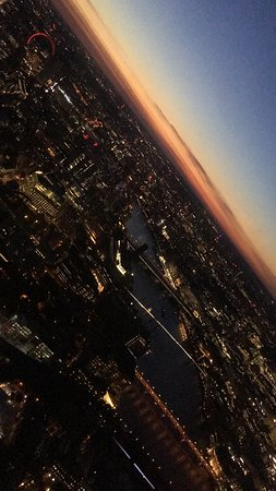 Biglietto di ingresso diretto a The View from The Shard : Sunset from the shard