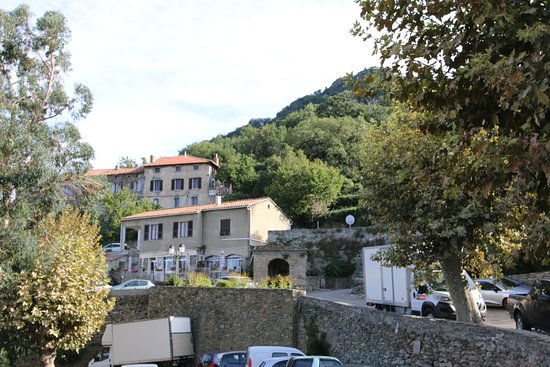Vue du village de Sorio