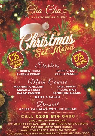 Celebrate your Christmas with us. Merry Christmas to all.  Team Chachaz