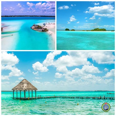 Fall in love with the magic town of Bacalar and discover the beauty of the Seven Color Lagoon in Quintana Roo. Come to Dive Mexico Playa and discover the wonders of this place...  #bacalar #quintanaroo #tours #divemexicoplaya