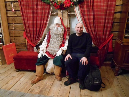 Me and Santa Claus