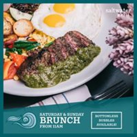 A La Carte Brunch Every Saturday and Sunday