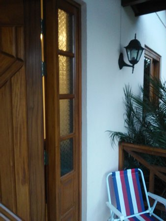 Front entrance to our cottage