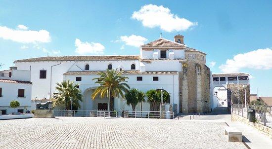 Plaza del Palacio in Baena.