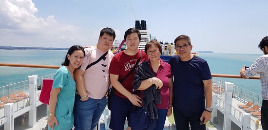 We spent last October 26-November 2, 2019 in singapore; to ride the dream cruise and we stay for 3 days and 2 nights going to port dickson. But of lack of time, we've not went down the ship. We just walking around the ship. Finding wants event or show up coming movies. The crews are accommodating rather the mangers and sous chef.