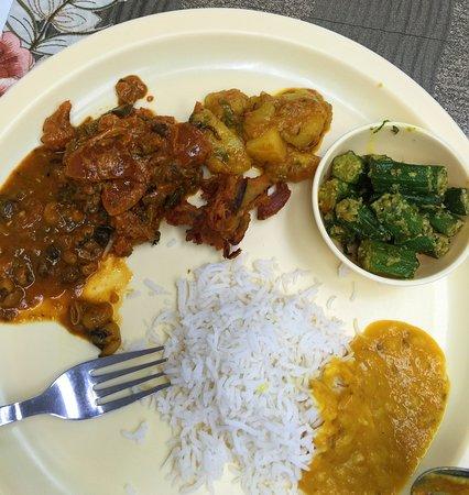 Vegetarian Buffet Food