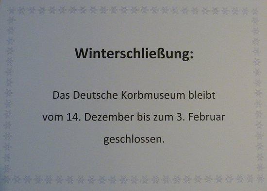 Deutsches Korbmuseum