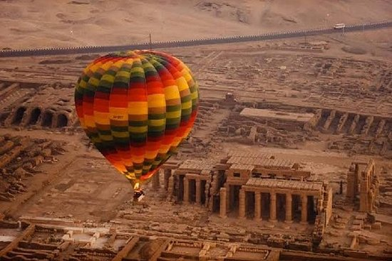 Sunrise VIP Luxury Hot Air Balloon in Luxor: Cheap trip -Luxor: Hot Air Balloon Ride